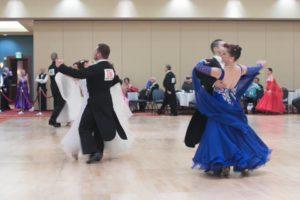 dancers at the ballroom dance classic