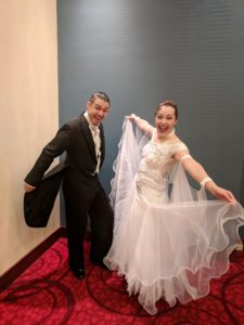 fun competing at the ballroom dance classic