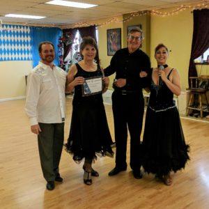 Dancers craig, valerie, Kevin, Holly