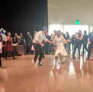 Grease Twist dancers