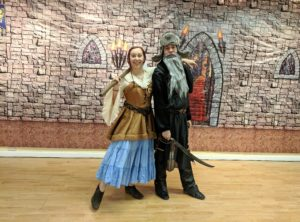 LOTR Dwarf dance partner