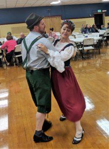 Oktoberfest polka dance