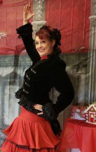 Holly as Spansih Chocolate dance