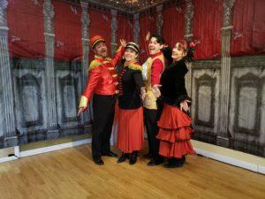 Nutcracker Spanish waltz cast