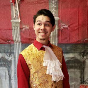 William as Spanish dance