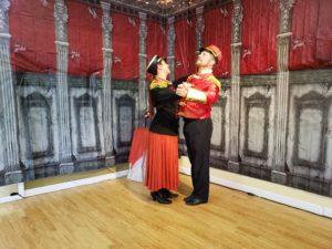 clara and nutcracker spanish waltz closed pos