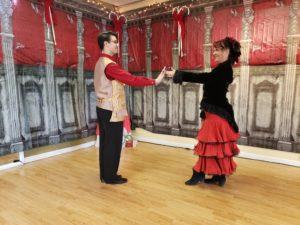 spansish waltz Hesitate out