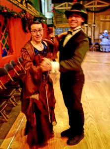 Dickens victorian dancers