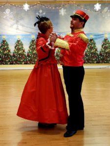 Lady Rose and Nutcracker waltz
