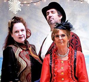 Mother ginger ringmaster Lady Rose Jane
