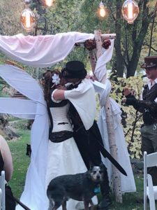 Fantasy kiss the bride