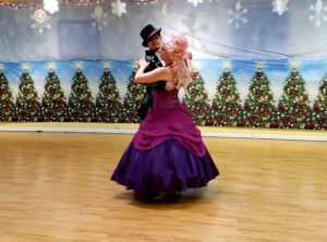 Prince and Sugar plum fairy dance two step
