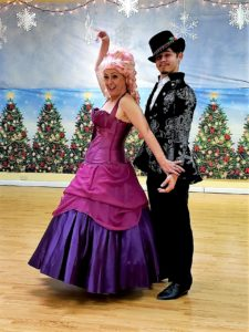 Sugar Plum Fairy and Prince K shadow dance