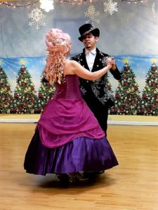 Sugar plum and Prince dance victorian two step