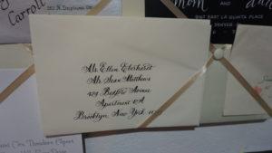 caligaphy envelope