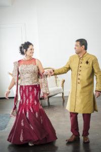 indian wedding escort bride