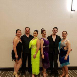 Denver Dancesport Jam competetors