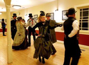 Steampunk Soiree dancing
