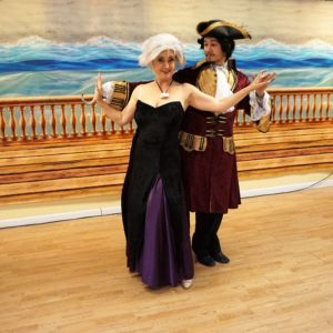 Ursula and Caprian Hook dance waltz