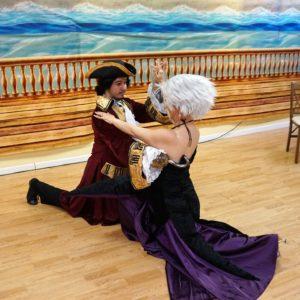 Valentino Apache Tango dance Hook Ursula