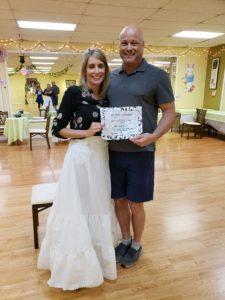John and Keri wedding graduates