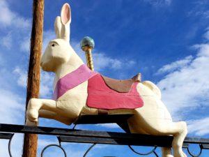 bunny in the sky