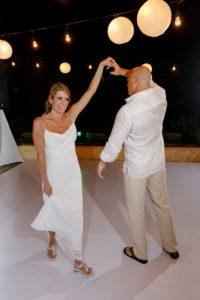 destination wedding dance turn
