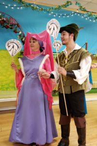 Horses Branle Maid marion Robin Hood