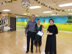 Jim holly linda spring showcase award