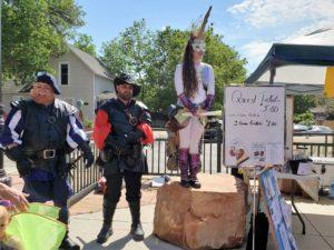 Faerie festival mercinaries and unicorn queen (2)