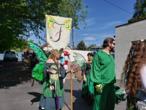Faery parade