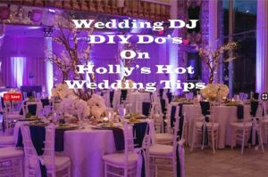 Wedding DJ DIY Tips do