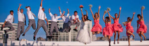 complete weding party jump
