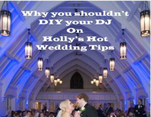 why you shouldnt diy dj at wedding