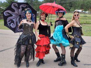 Ladies of Guffey steampunk festival