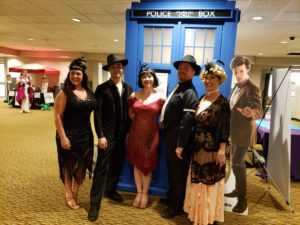 wizards ball troup at the Tardis