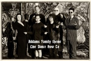 Addams Family Theme Line Dance How To (2)