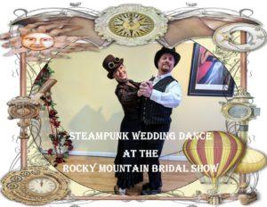 steampunk wedding dance