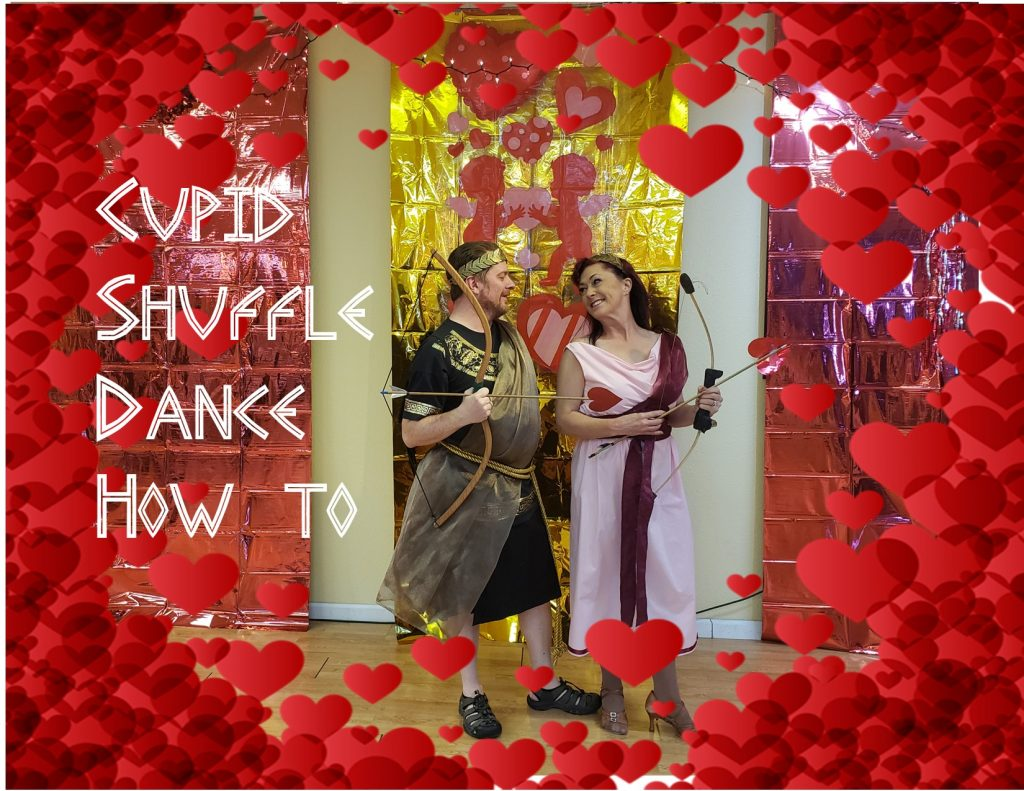 Psyche & The Cupid Shuffle Dance How To