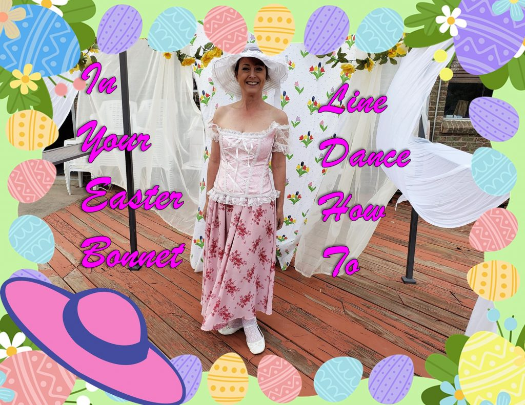 Easter Bonnet Line Dance How To