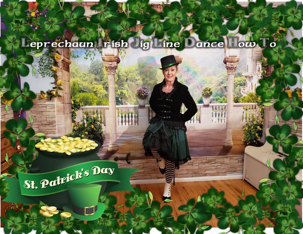Leprechaun Irish Jig Line Dance How To